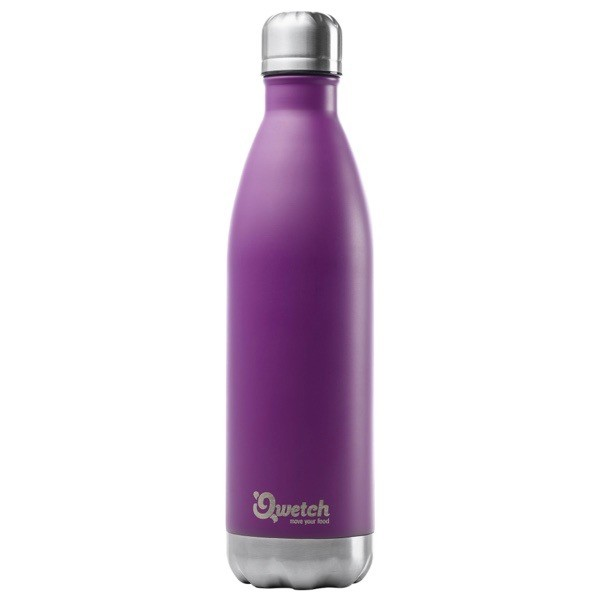 Qwetch Nomade 0,75l Thermosflasche aus Edelstahl Trinkflasche BPA frei
