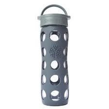 Lifefactory Trinkflasche aus Glas 475ml in tollen Farben Glastrinkflasche BPAfrei