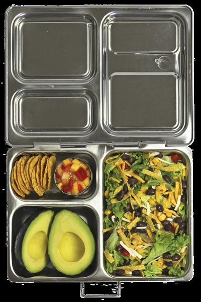 planetbox launch lunchbox aus edelstahl mit unterteilung pure and green. Black Bedroom Furniture Sets. Home Design Ideas