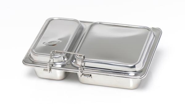 planetbox rover lunchbox aus edelstahl mit unterteilung pure and green. Black Bedroom Furniture Sets. Home Design Ideas