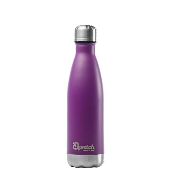 Qwetch Nomade 0,5l Thermosflasche aus Edelstahl Trinkflasche BPA frei