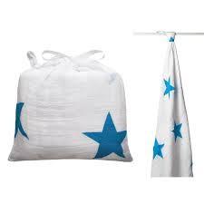 aden + anais swaddle Pucktuch, Sterne mit Tasche