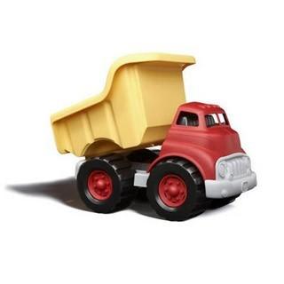 Greentoys Kipplaster Dump Truck BPA frei aus Milchverpackung 1+