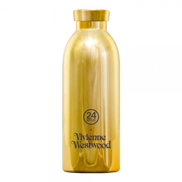 24bottles Vivienne Westwood Thermosflasche Trinkflasche 0,5l gold
