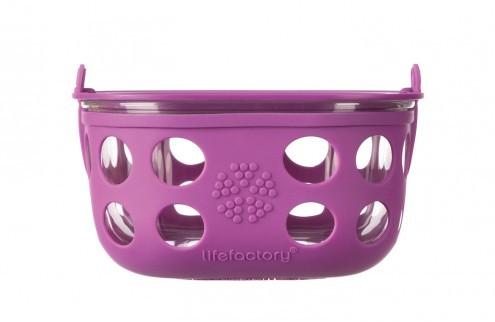 lifefactory Aufbewahrungsbehälter aus Glas 950ml BPA frei auslaufsicher Essensbehälter food containe