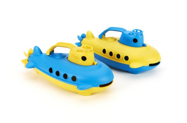 Greentoys U-Boot Submarine BPA frei aus Milchverpackung +6m