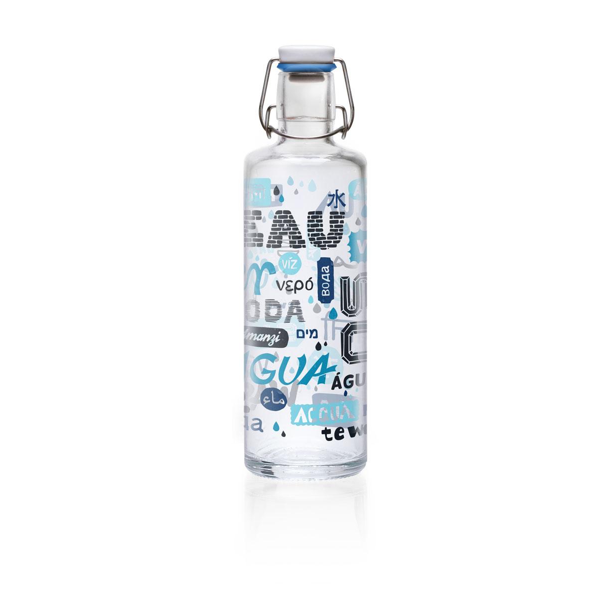 Soulbottles 1l Everybody Everywhere Trinkflasche Wasserflasche