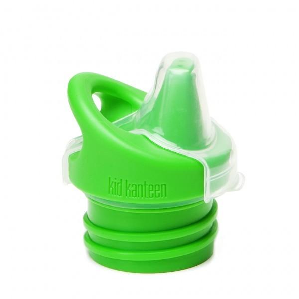 KLEAN KANTEEN Kid Kanteen Ersatzdeckel Sippy Cap grün Verschluss BPA frei