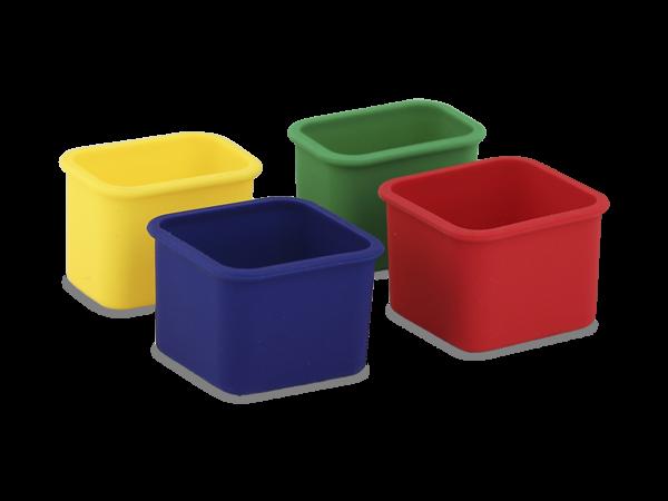 planetbox pods 4er Set für ROVER Lunchbox Einsätze für Brotdose
