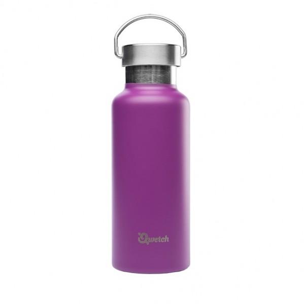 Qwetch Thermosflasche aus Edelstahl Trinkflasche 0,5l BPA frei