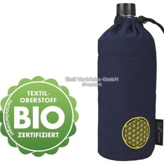 Emil die Flasche Trinkflasche Wasserflasche Glasflasche 0,6l BPA frei Bio Energy