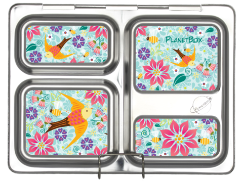 planetbox Magnete für Launch Lunchbox Brotdose