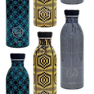 24bottles Edelstahl Trinkflasche 0,5l optical collection BPA frei limited edition