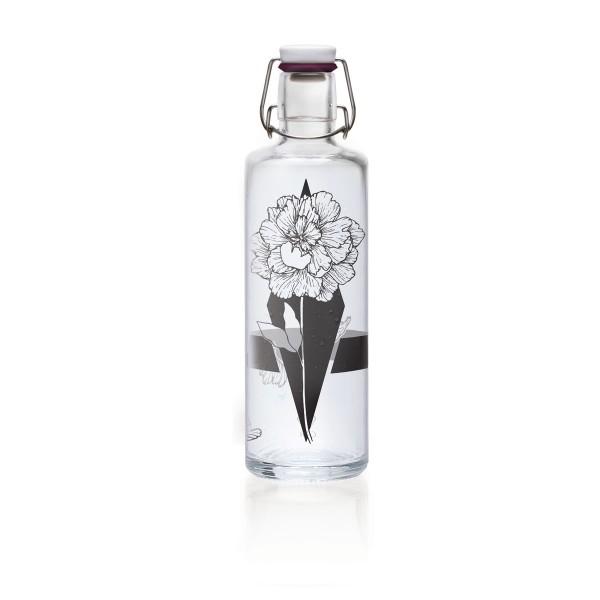 Soulbottles 1l Nur die Eine Trinkflasche Wasserflasche Glasflasche
