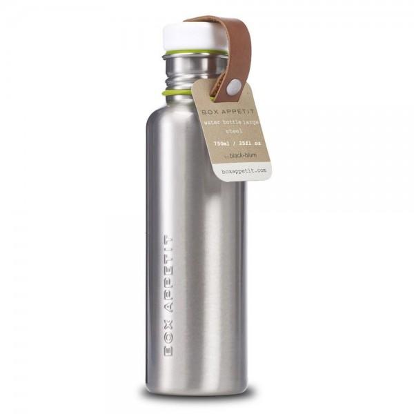 Trinkflasche aus Edelstahl BPAfrei im Retro Style vegan