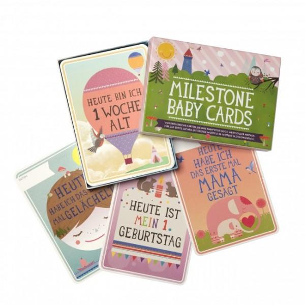 Milestones Babycard Babykarten 30 Stück