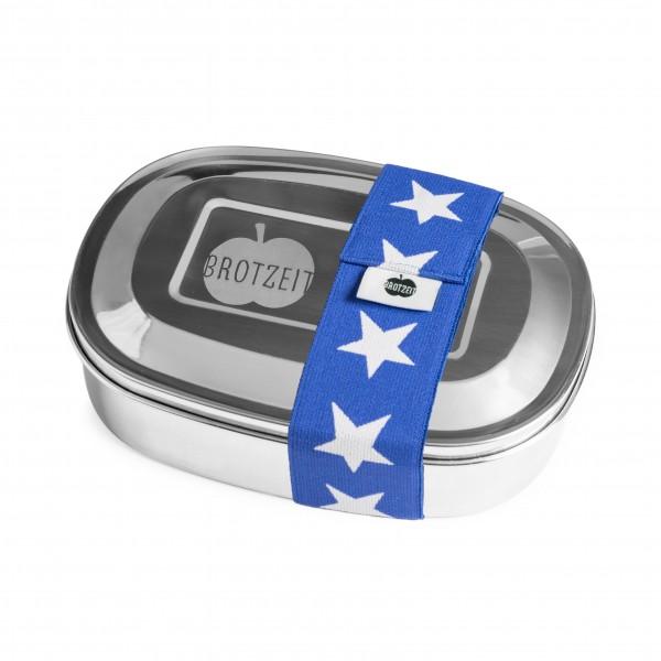 Brotzeit MAGIC Lunchboxen Brotdose Jausenbox mit herausnehmbarer Unterteilung aus Edelstahl