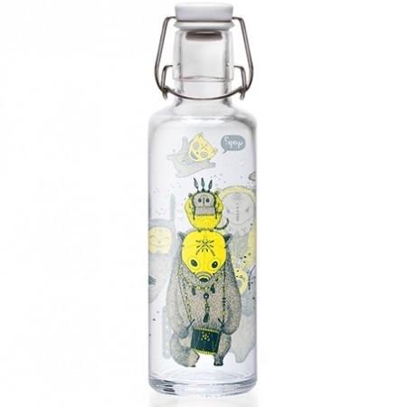 Soulbottles Trinkflasche Yap Yap Wasserflasche Glasflasche 0,6l