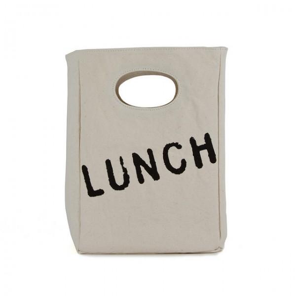 Fluf Lunchbag aus Biobaumwolle GOTS Jausentasche Brotbeutel Jausensackerl