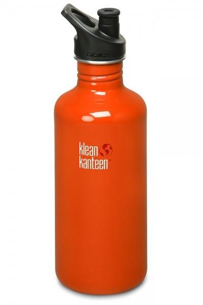 Klean Kanteen Classic Edelstahl Trinkflasche 1200ml Jumbo BPA frei 40oz