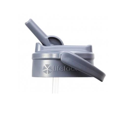 Lifefactory Straw Cap für Trinkflaschen aus Glas 320ml und 470ml und 650ml Ersatzdeckel mit Strohhal