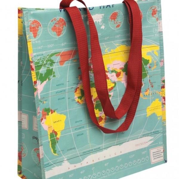 Save The Planet! Einkaufstasche Bag Tasche Beutel aus recycelten PET Flaschen