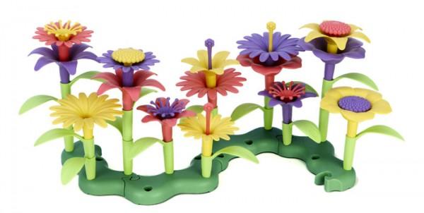 greentoys Blumenstrauss Steckspiel Spiel Set 44teilig aus Milchverpackung hergestellt Alter 2+ BPA f
