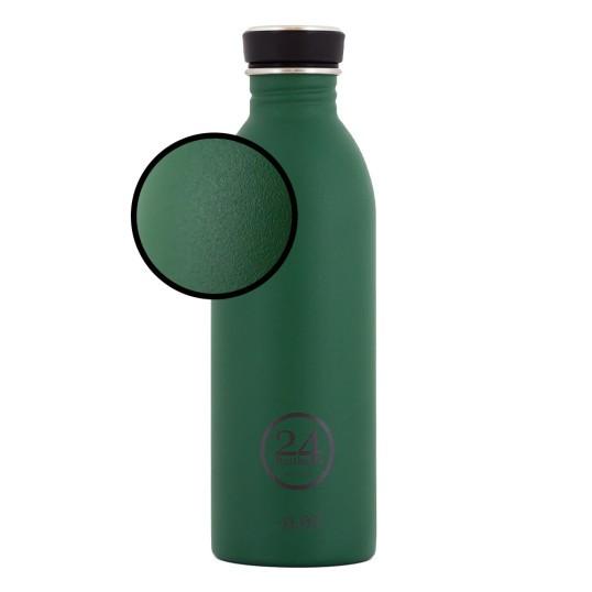 24bottles Edelstahl Trinkflasche 0,5l mit stone finish BPA frei federleicht und handlich