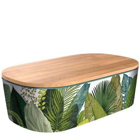 BambooCup Lunchbox Deluxe mit tollen Motiven, Bambusdeckel und Unterteilung
