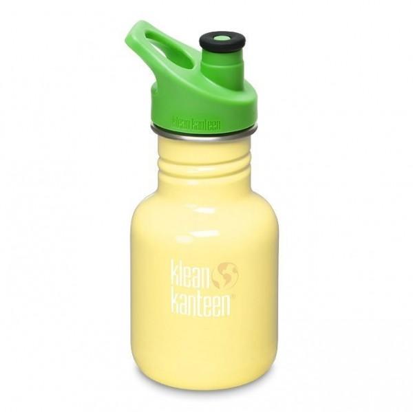 Klean Kanteen Classic Kids Trinkflasche 355ml in tollen Farben mit Sport Cap gruen
