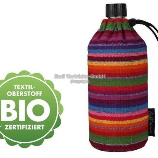 Emil die Flasche Trinkflasche Wasserflasche Glasflasche 0,4l BPA frei