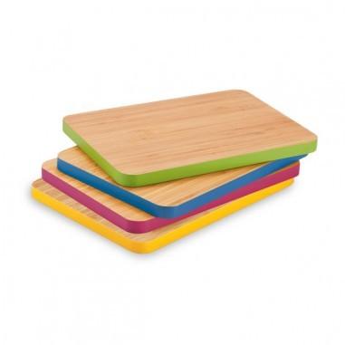 bambu Bambus Schneidebrett Servierbrett Tablett cutting & serving board medium