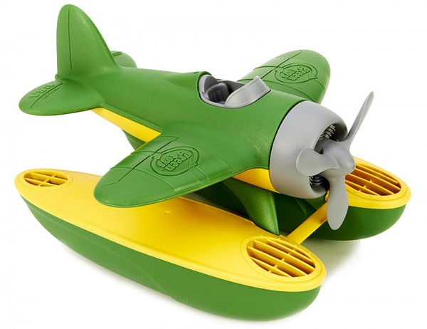 Greentoys Wasserflugzeug Flugzeug BPA frei aus Milchverpackung 1+