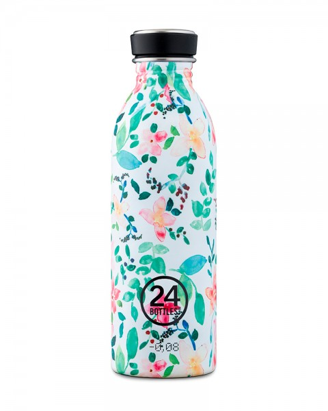 24bottles floral collection Edelstahl Trinkflasche 500ml