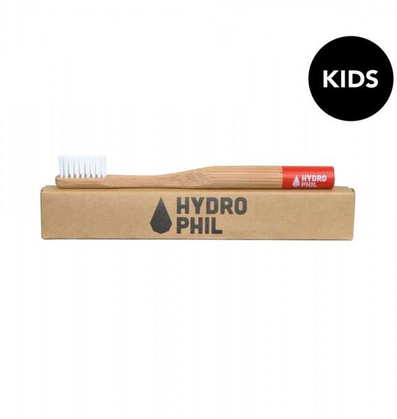 HYDROPHIL Kids Bambus Zahnbürste weich kompostierbar vegan fair Kinderzahnbürste