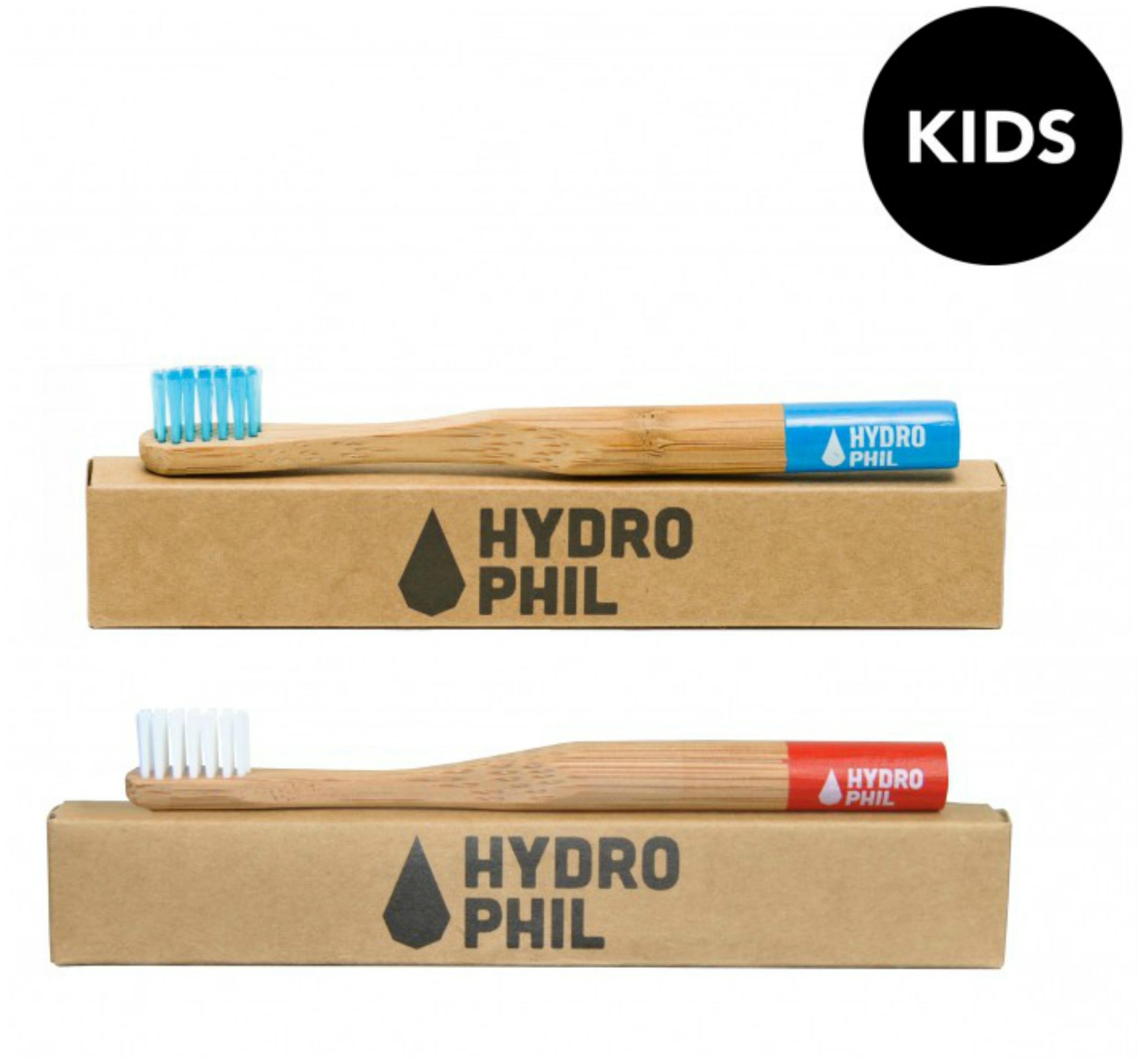 Hydrophil Kids Bambus Zahnburste Weich Kompostierbar Vegan Fair
