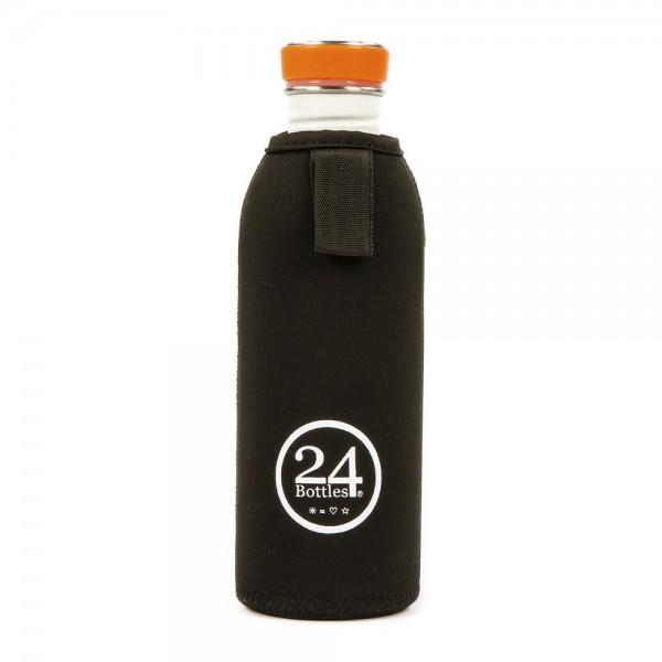 24bottles Neoprenhülle für Trinkflasche 0,5l und 1l Thermal Cover Flaschenhülle Flaschencover