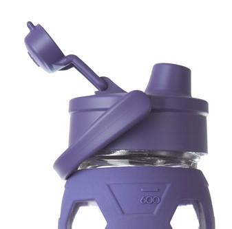 Lifefactory Flip Top Sport Cap für Trinkflaschen aus Glas