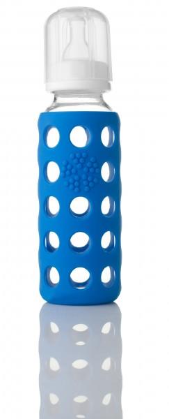 Lifefactory Babyflasche aus Glas 260 ml in tollen Farben BPA frei