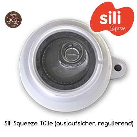Sili Squeeze Ersatzdeckel Ersatztülle für Quetschbeutel