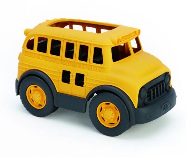 Greentoys Schulbus aus Milchverpackung hergestellt Alter 1+ BPA frei mit Sojafarbe gefärbt