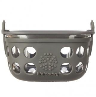 lifefactory Aufbewahrungsbehälter aus Glas 240ml BPA frei auslaufsicher Essensbehälter food containe