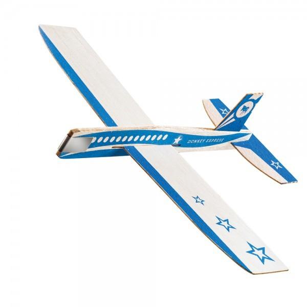 Holzflieger Flieger Flugzeug aus Holz