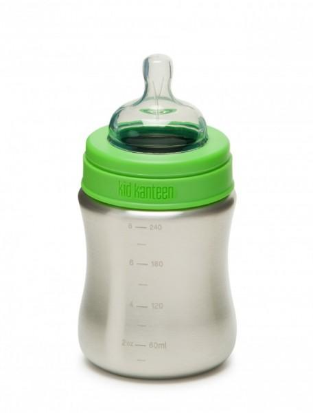 Klean Kanteen 267ml Babyflasche Edelstahl - mittlerer Trinkfluss