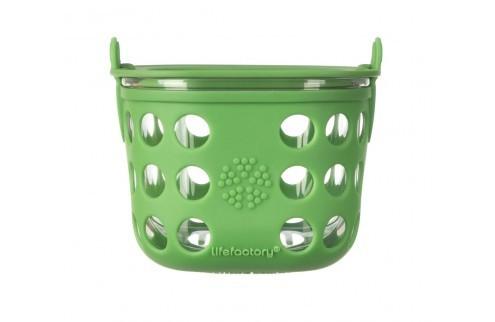 lifefactory Aufbewahrungsbehälter aus Glas 475ml BPA frei auslaufsicher Essensbehälter food containe