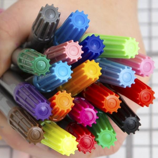eat sleep doodle auswaschbaren Stifte 10er Set